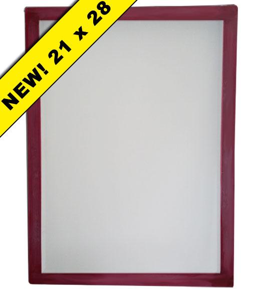 Atlas Screen Supply Company - Aluminum Frame 21 x 28 w/ 110 White ...