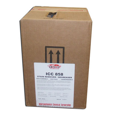 Icc Chemicals Icc 858 Stain Remover Degreaser 5 Gallon