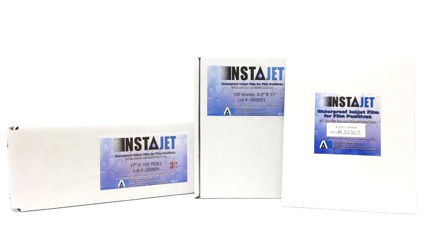 Insta Jet Waterproof Inkjet Film