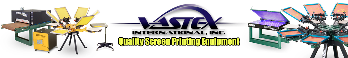 Vastex: Quality Screen Printing Equipment