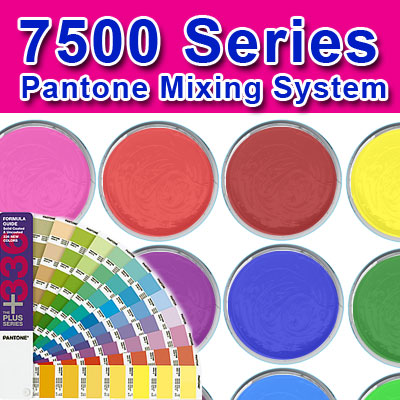7500 Mixing System QUART Kit international coatings, 7500 series, screen printing ink