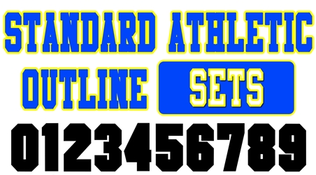 Standard Athletic Outline Sets
