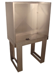 "Vastex 36"" x 21"" Washout Booth"