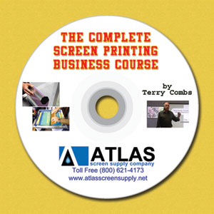 Complete Screen Printing Course DVD