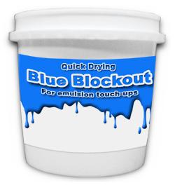 Atlas Screen Supply Company Blue Blockout Quart 25ub2