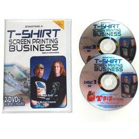 Starting a t shirt screen printing business dvd for T shirt printing business start up