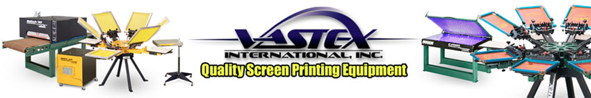 Vastex Screen Printing Equipment