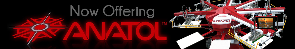 Now Offering Anatol Equipment