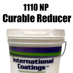 1110NP Curable Reducer non-pthalate, curable reducer, international coatings