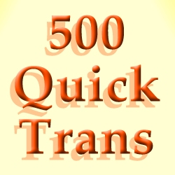 500LF Quick Trans Additive
