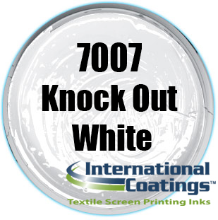 7007 KNOCK OUT WHITE INK