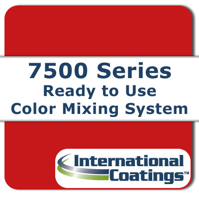 7507 Mixing Red NP international coatings, 7500 series, screen printing ink