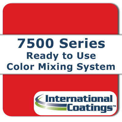 7505 Mixing Scarlet NP international coatings, 7500 series, screen printing ink