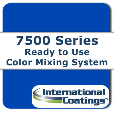 7513 Mixing Blue A (Green Shade) NP international coatings, 7500 series, screen printing ink