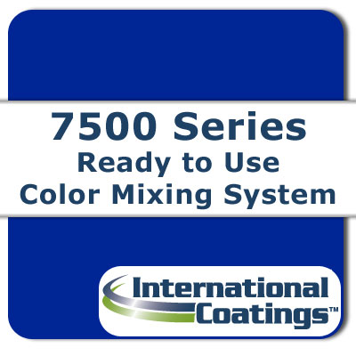 7515 Mixing Blue B (Red Shade) NP international coatings, 7500 series, screen printing ink