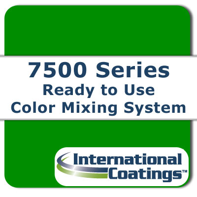 7517 Mixing Green NP international coatings, 7500 series, screen printing ink