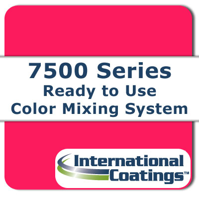 7519 Mixing FL Magenta NP international coatings, 7500 series, screen printing ink