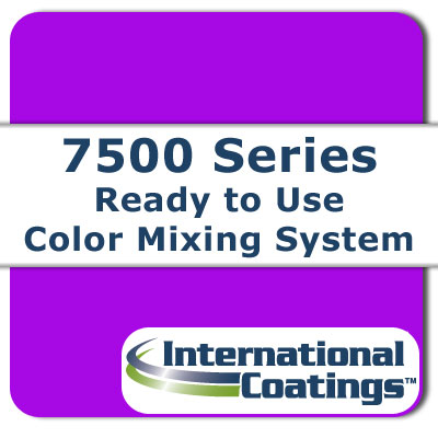 7521 Mixing FL Violet NP international coatings, 7500 series, screen printing ink