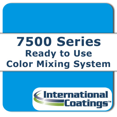 7523 Mixing FL Blue NP international coatings, 7500 series, screen printing ink