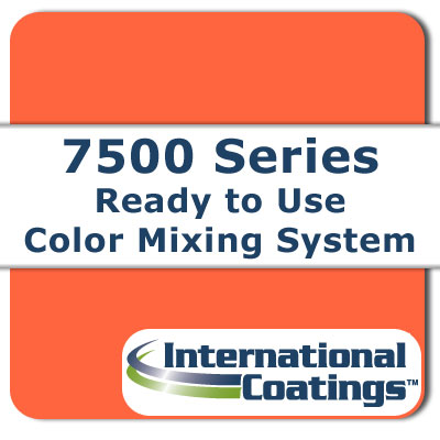 7531 Mixing FL Orange NP international coatings, 7500 series, screen printing ink