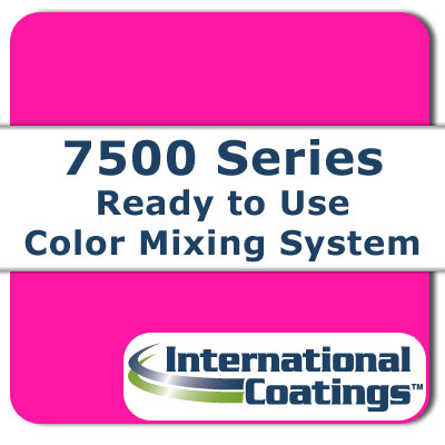 7533 Mixing FL Pink NP international coatings, 7500 series, screen printing ink
