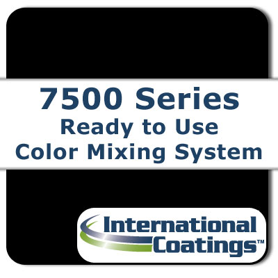 7536 Mixing Black NP international coatings, 7500 series, screen printing ink