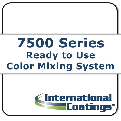 7538 Mixing White NP international coatings, 7500 series, screen printing ink