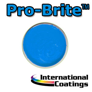 764LF Pro-Brite Cyan four color process, screen printing, inks