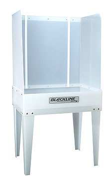 Blackline KD-XL Washout Booth