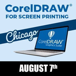 CorelDRAW for Screen Printing - Chicago, Illinois - August 7th