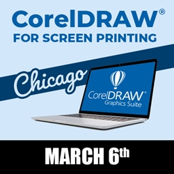 CorelDRAW for Screen Printing - Chicago, Illinois - March 6th