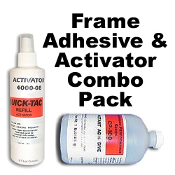 Frame Adhesive Combo Pack