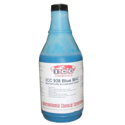 ICC 938 Blue MAC Stain Remover Degreaser