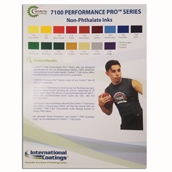 International Coatings  Color Card 7100 Series