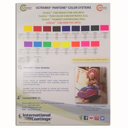 International Coatings  Color Card 7500 Series
