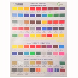 International Coatings  Color Card