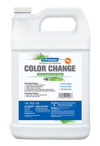 On Press Ink Remover (Color Change) Gallon