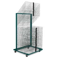 "Port-O-Racks Drying Rack (40 Shelves) 18"" x 24"" drying rack, storage rack, screen printing"