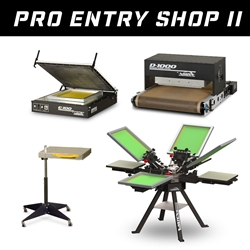 Pro Entry Shop II - Screen Printing Shop Set-Up