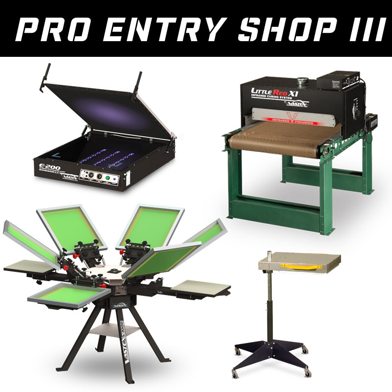 Pro Entry Shop III - Screen Printing Shop Set-Up