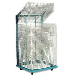 "Rack-It Heavy Duty Drying Rack (50 Shelves) 26"" x 36""  drying rack, storage rack, screen printing"