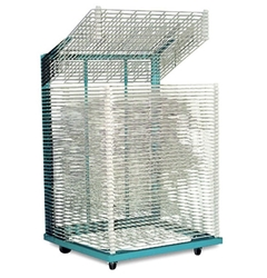 "Rack-It Heavy Duty Drying Rack (50 Shelves) 37"" x 50"" drying rack, storage rack, screen printing"