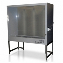 Professional Series Splashless Washout Booth