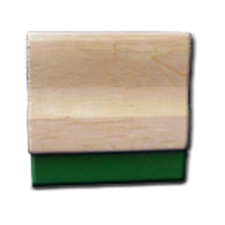 Green Squeegee with Handle