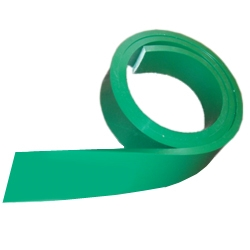 Green Squeegee Blade Only 70 Durometer