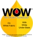 WOW Ready Series Ink Golden Yellow A