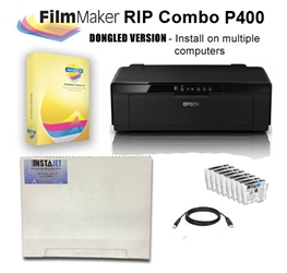 FilmMaker 10 RIP Combo P400- All Slots Black Screen Printing , RIP, Combo, P400