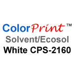 "ColorPrint Solvent/Ecosol White 24"" x 5yds"