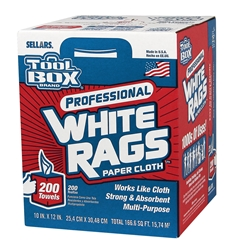 Toolbox White Rags