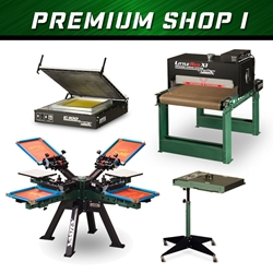 Premium Shop I screen printing, shop set-up, equipment, vastex